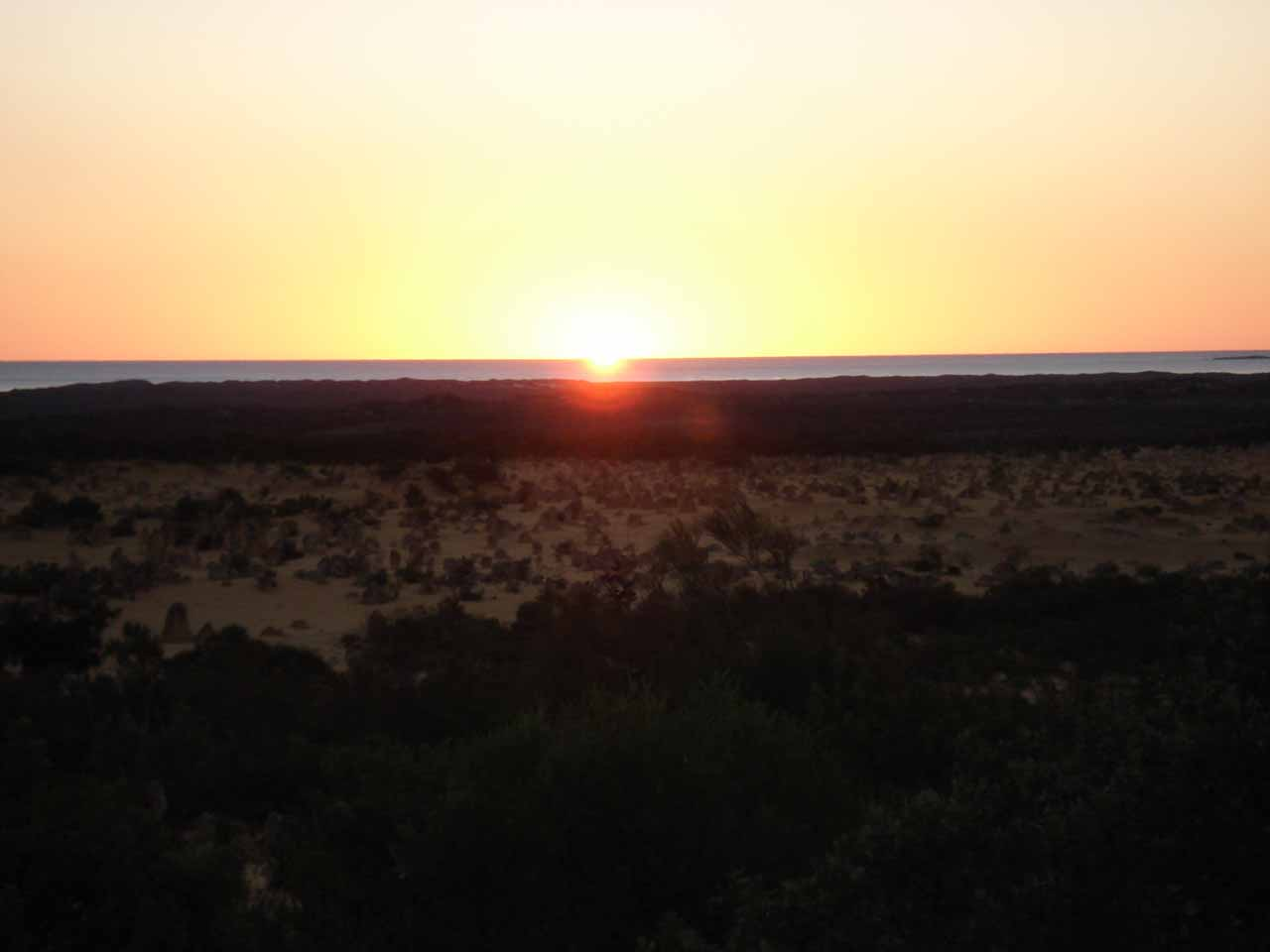 Sunset at the Pinnacles