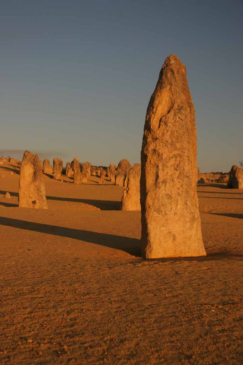 About 2 hours drive north of Perth was the attractive Pinnacles near Cervantes