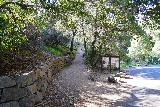 Pinnacles_NP_009_02232020 - The trailhead for the Bear Gulch Cave and Reservoir Trail