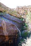 Pinnacles_NP_152_02232020 - Context of a waterfall fed by the Bear Gulch Reservoir, which I called the Bear Gulch Reservoir Falls