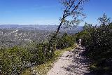 Pinnacles_NP_452_02232020 - Continuing on the High Peaks Trail towards the Condor Gulch Trail