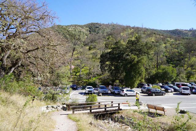Pinnacles_NP_544_02232020 - There's very limited parking at the Bear Gulch Nature Center so it might be just as suitable to take the park shuttle from the visitor center where there's more ample parking