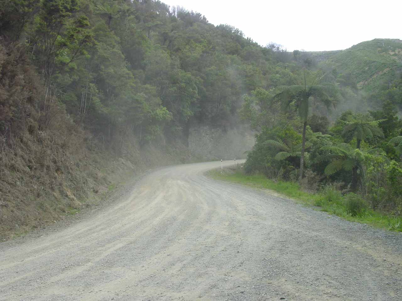 Looking in the other direction from the car park for Piroa Falls