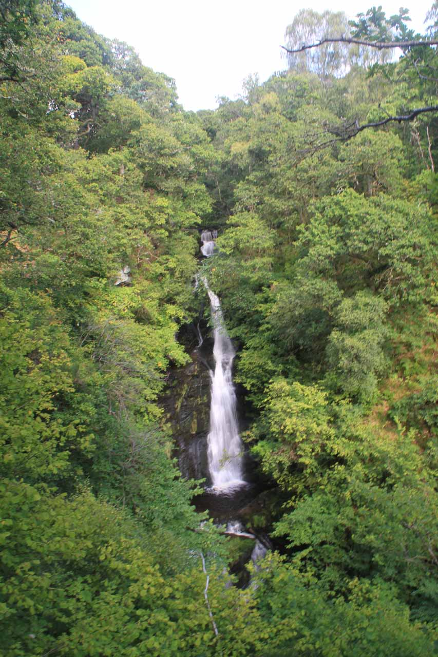 My first look at the Black Spout Waterfall