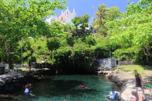 Piula_Cave_Pool_054_11122019 - About a half-hour drive to the east of Apia was the Piula Cave Pool, which featured an attractive swimming hole as well as an Episcopal Church overlooking both the pool and the coastline behind it