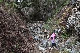 Placerita_Canyon_068_01192019 - More stream scrambling as we were approaching a confluence of Placerita Creek with some unnamed creek