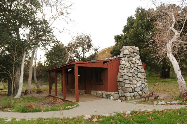 Placerita_Canyon_204_01192019 - This was the Walker Cabin at the Placerita Canyon Nature Center, where Frank and Hortense Walker raised 12 children in the 1920s before renting it out for movie making