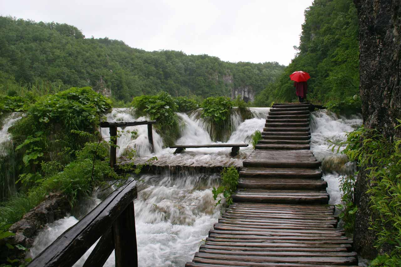 Our waterfalling passion also took us to Croatia and the Plitvice Lakes, which was a place we might have never even considered visiting if it wasn't for waterfalls