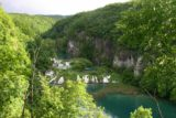 Plitvice_159_05312010 - Looking down into the gorge of the Lower Lakes when the sun finally showed itself after nearly a full day of rain
