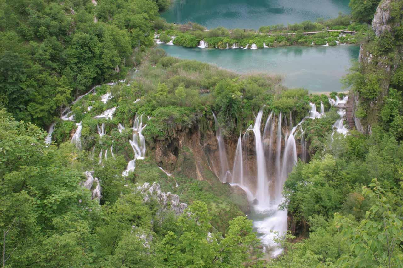Waterfalls in Europe