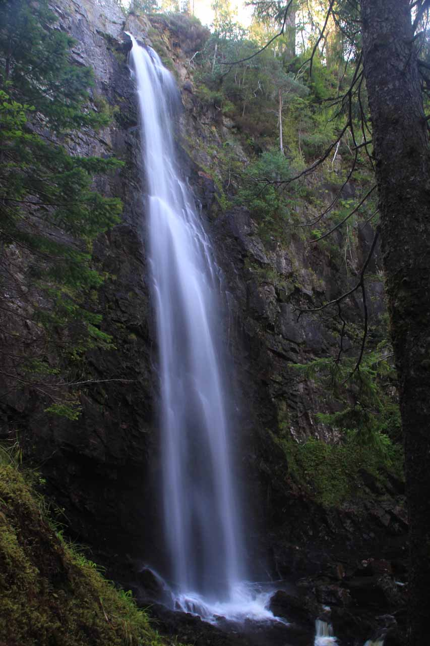 This was the full view of the 46m tall Plodda Falls from the lower lookout