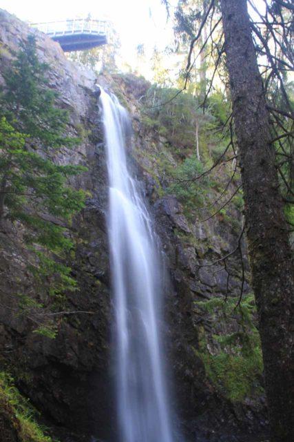 Plodda_Falls_045_08272014 - Plodda Falls and the upper lookout platform