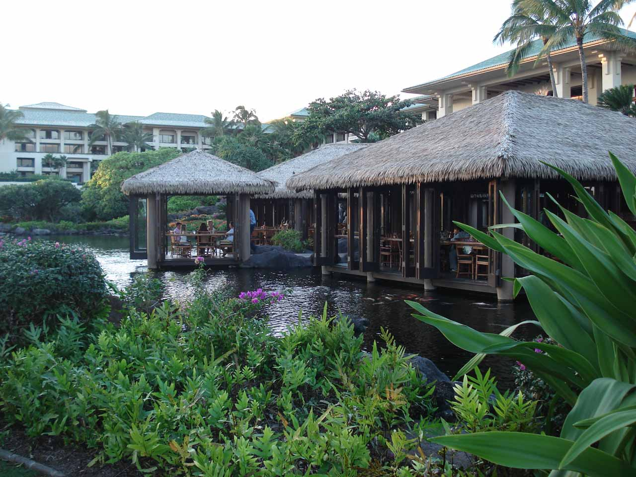 It really seemed like the resorts of Po'ipu were where visitors on a looser budget could stay