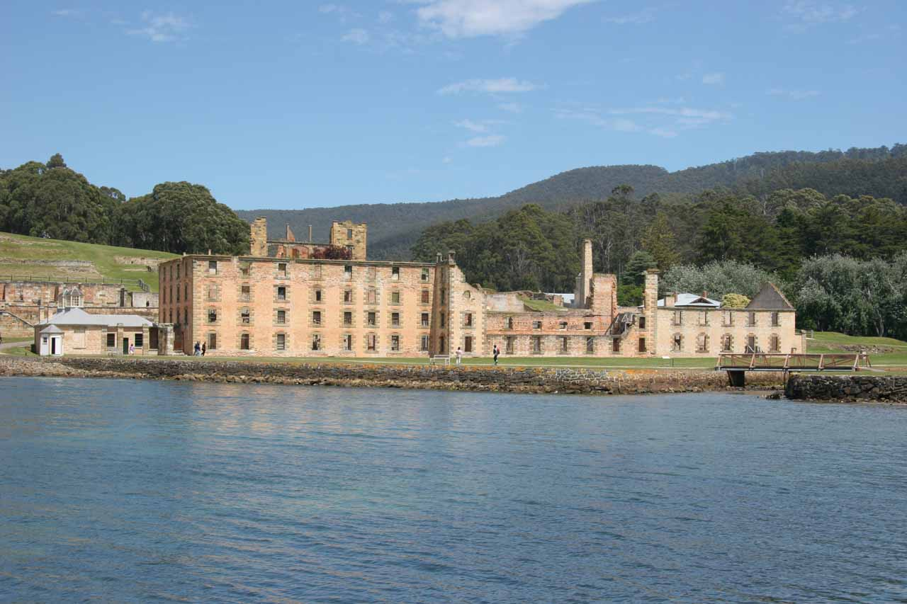 Roughly 90 minutes to the southeast of Hobart on the Tasman Peninsula was the Port Arthur Convict Site, which was one of Australia's most important historical sites