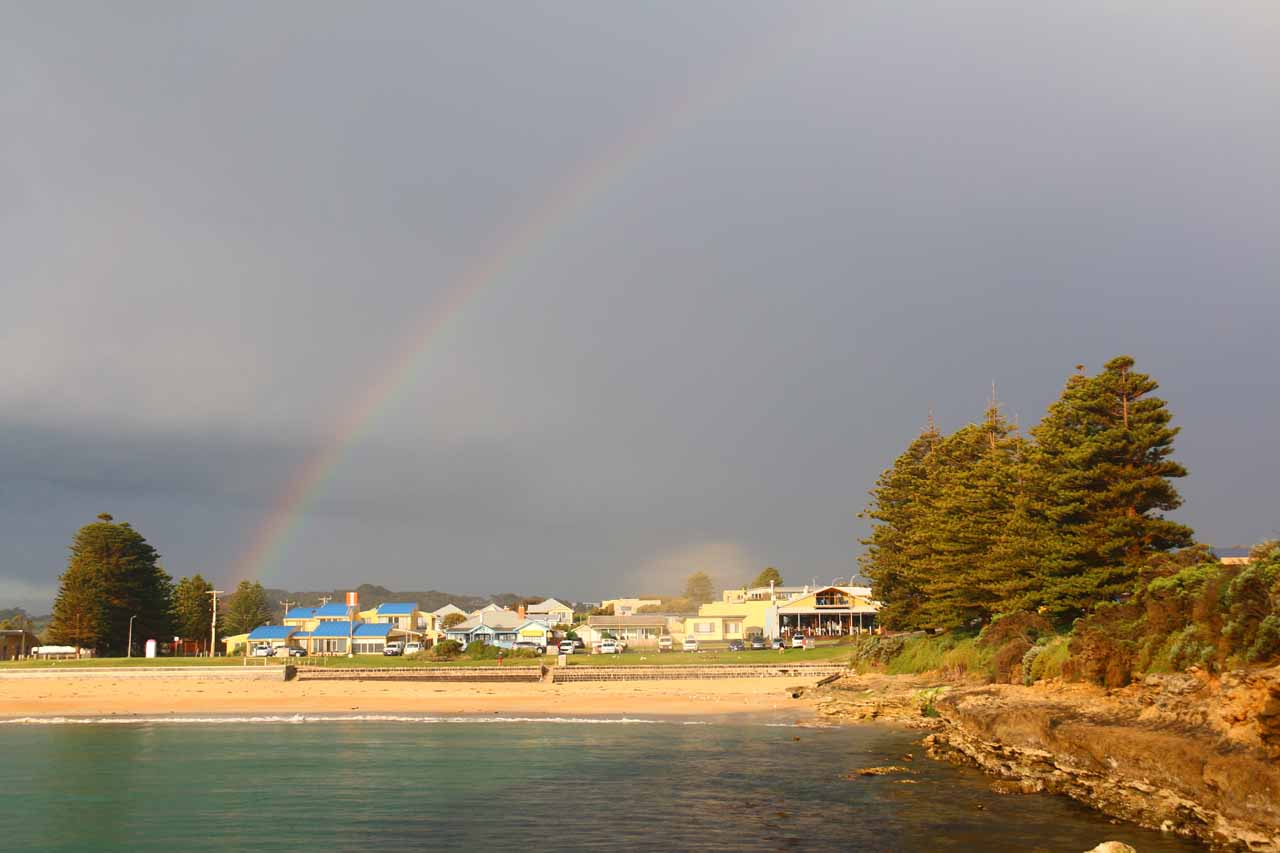 If Lorne and Apollo Bay were too busy for a Great Ocean Road coastal town, there was also Port Campbell further to the west, which was even quieter and perhaps even more beautiful as a result