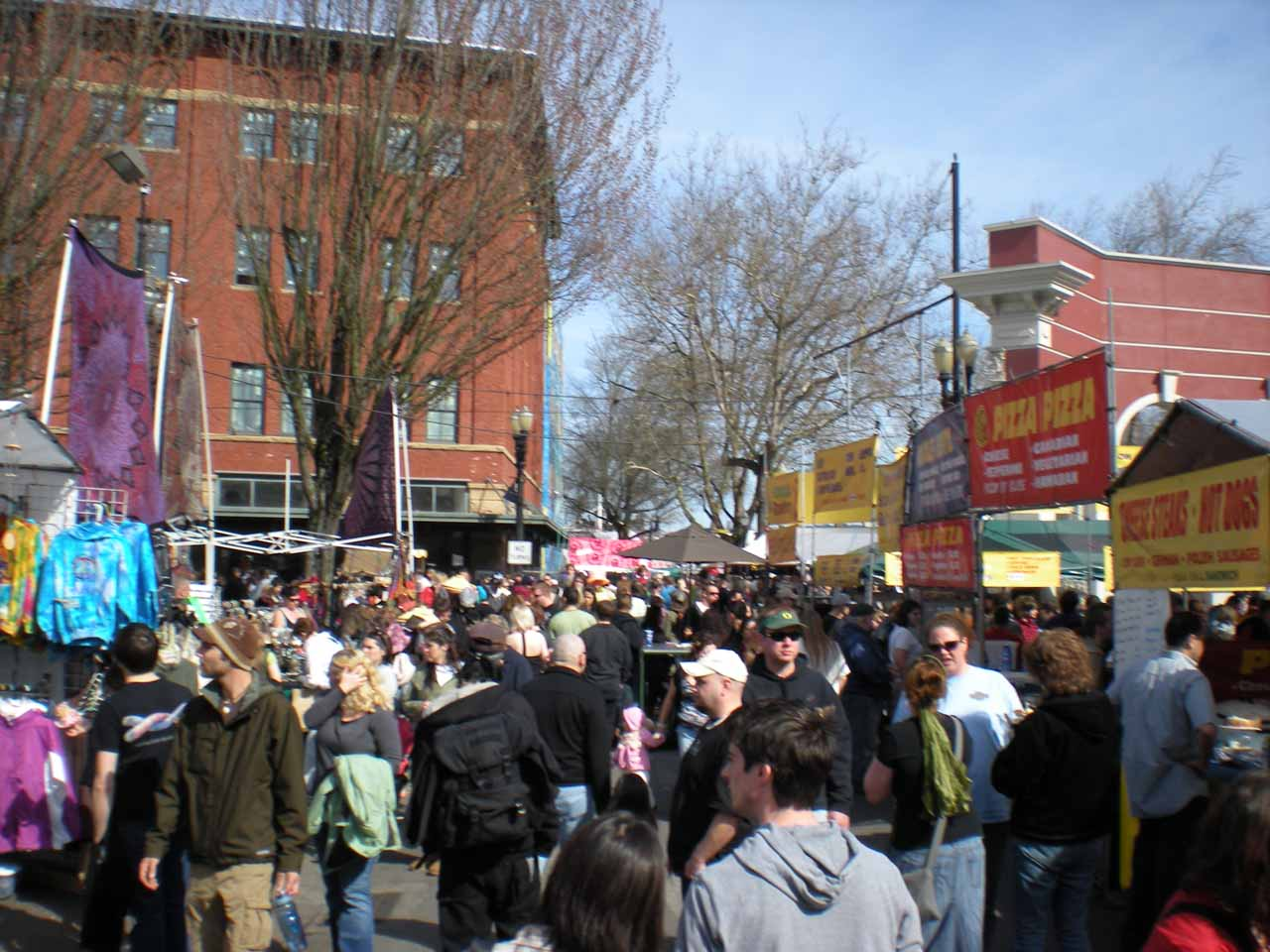 The Portland Saturday Market