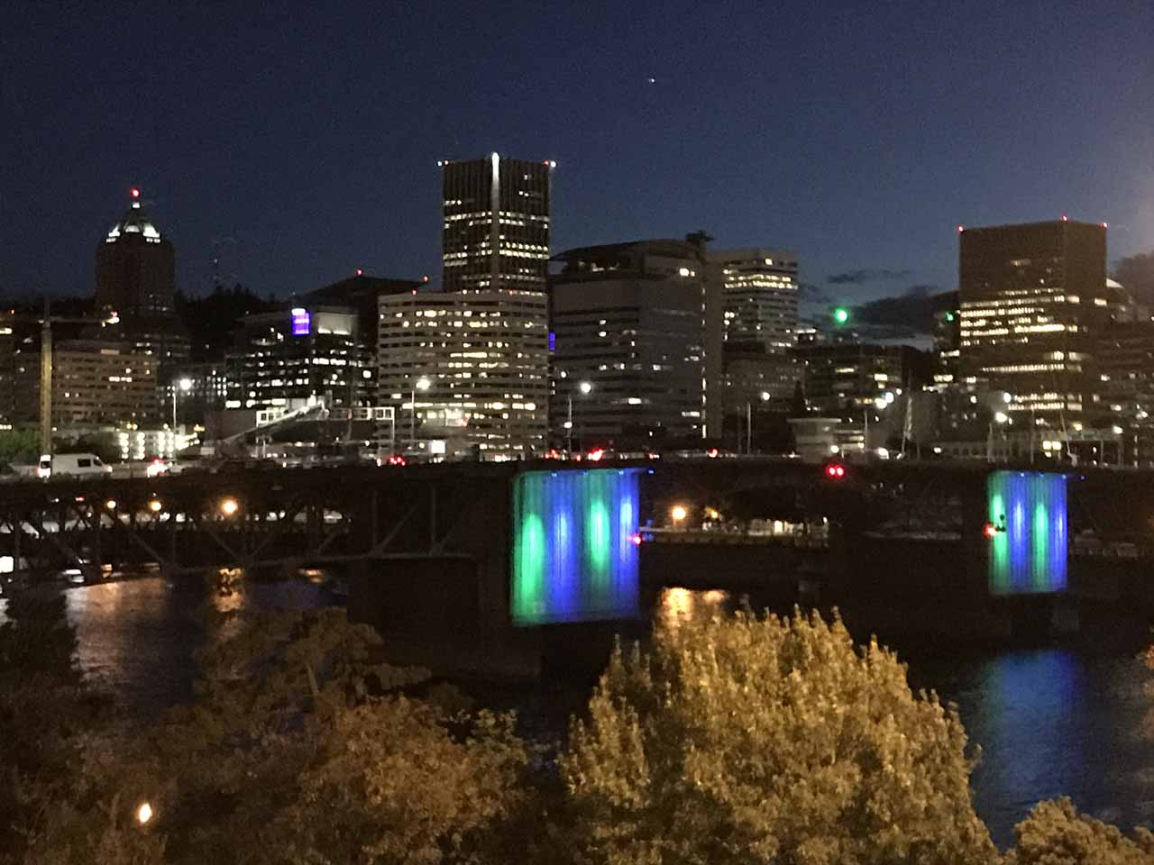 Portland was about a 90-minute drive to the Tamanawas Falls Trailhead. The city featured some interesting attractions as well as a nice urban park along the Willamette River