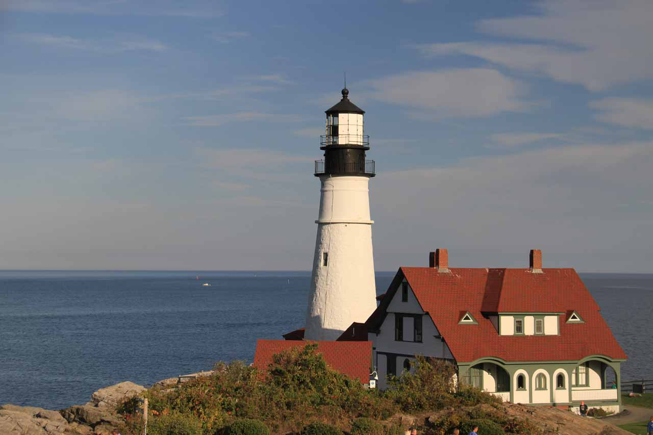 The Portland Head Lighthouse