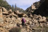 Portrero_John_008_03192017 - However, we then had to cross this boulder field early on in the hike to Potrero John Falls