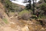 Portrero_John_015_03192017 - Mom traversing Potrero John Creek after at least a third time early on in the hike