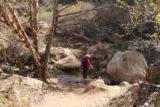 Portrero_John_031_03192017 - Mom negotiating yet another crossing of Potrero John Creek