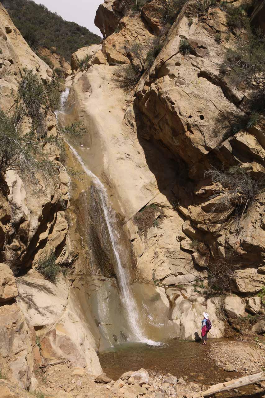 The main drop of Portrero John Falls