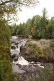 Potato_River_Falls_016_09282015 - This was the view of the Upper Potato Falls from that lookout deck that we descended towards