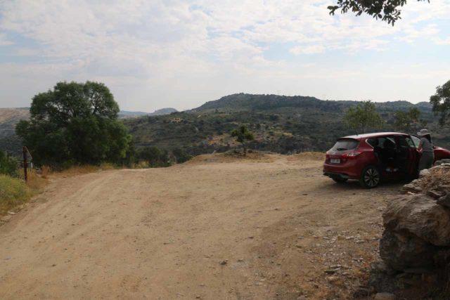 Pozo_de_los_Humos_003_06072015 - The smaller and more remote car park for the Pozo de los Humos on the Masueco side