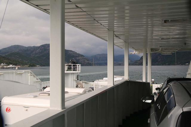 Preikestolen_004_06202019 - Riding the ferry from Lauvvik to Oanes