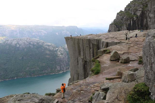 Preikestolen_129_06202019 - Finally approaching the granite plateau of Preikestolen