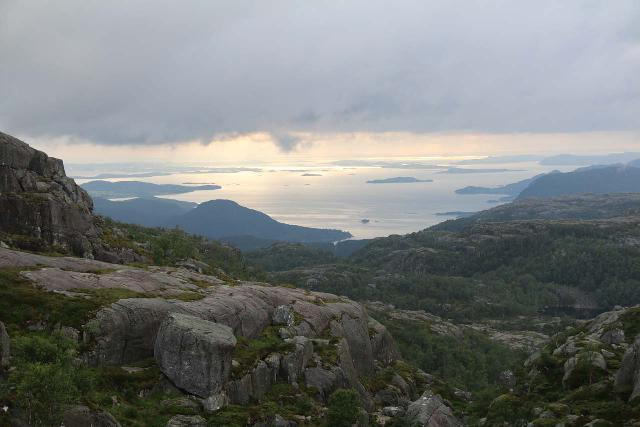 Preikestolen_136_06202019 - As I was scrambling around looking for the alternate views, I started to wonder if I was going the right way because it was leading me towards these views in the opposite direction of Idsefjorden and Stavanger