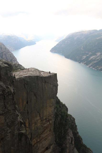 Preikestolen_171_06202019 - Preikestolen was another one of what I called the 'Tourist Trifecta' along with Trolltunga and Kjerag.  This one was really popular because it was probably the easiest of the three to visit