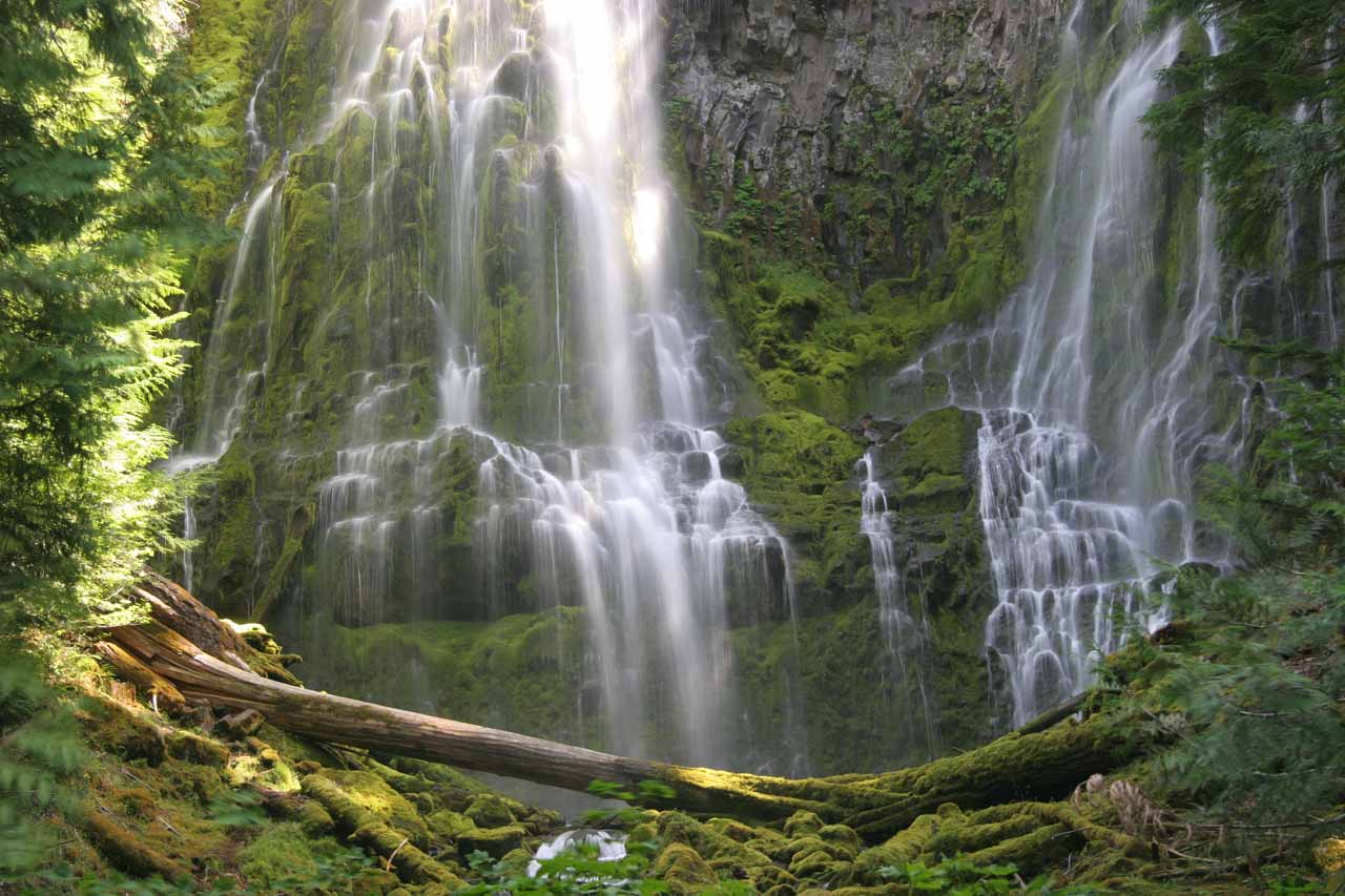 Proxy Falls Three Sisters Wilderness Oregon USA - Oregon waterfalls map