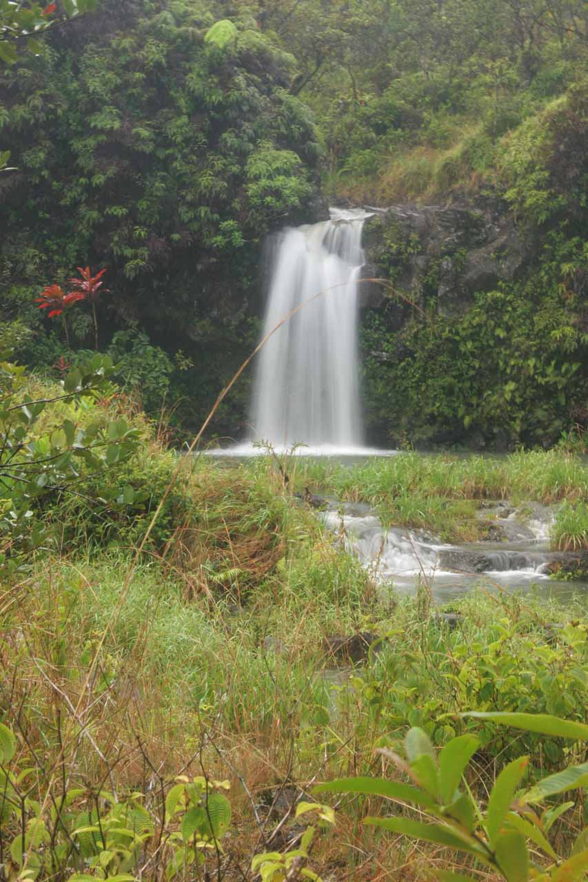 The first of the Pua'a Ka'a Falls