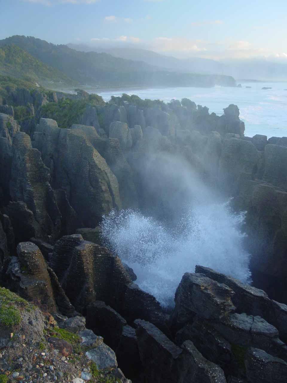 Putai Blowhole and the Pancake Rocks
