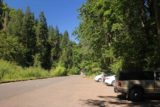 Punch_Bowl_Falls_17_001_08182017 - These sunny spots were where I actually parked the car, which was next to the shaded overflow parking lot. As you can see, I was not successful getting one of the closer spots to the Eagle Creek Trailhead on this visit in August 2017