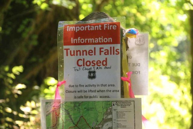 Punch_Bowl_Falls_17_016_08182017 - My original intent was to finish the hike to Tunnel Falls and back, but the Indian Creek Fire prevented that from happening