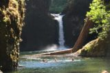 Punch_Bowl_Falls_17_115_08182017 - In order to get to where those three people went, you had to swim