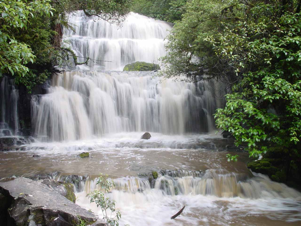 A South Island Waterfall