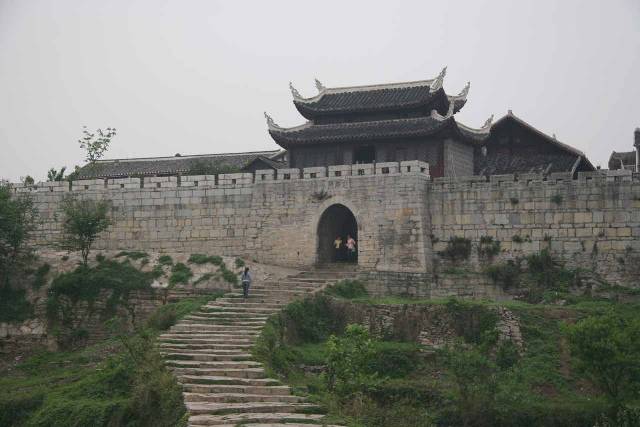 Qingyan was another one of the ancient towns near the city of Guiyang, but this one was very charming and picturesque