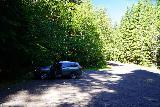Quartz_Creek_Trailhead_004_06242021 - Looking back at the parking lot for the Quartz Creek Trailhead