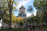 Quebec_City_001_10042013 - Chateau Frontenac seen from the plaza by the Auberge du Tresor