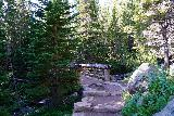RMNP_006_07272020 - Beyond the bridge over Chaos Creek, the Glacier Gorge Trail continued to gently climb