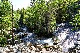 RMNP_024_07272020 - Looking towards a twisting part of Glacier Creek while getting closer to Alberta Falls