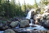 RMNP_038_07272020 - This was as frontal of a view of Alberta Falls as I would get in long exposure