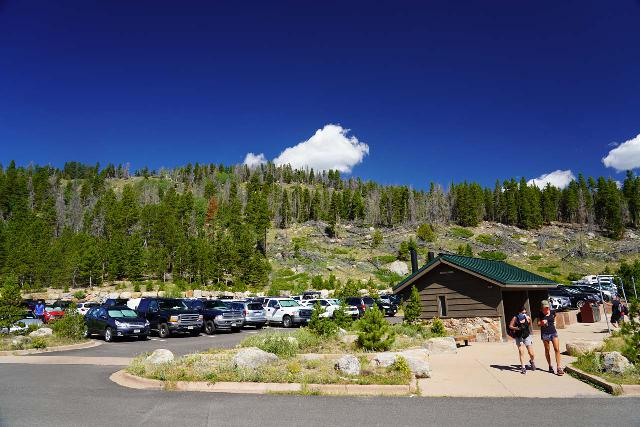 RMNP_156_07272020 - The Park and Ride for the Bear Lake Shuttle