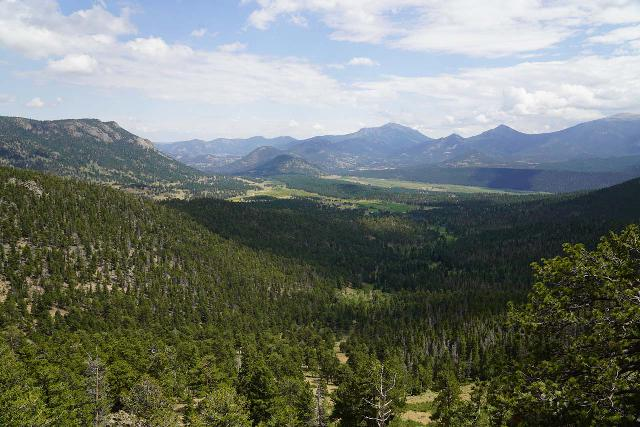 RMNP_271_07272020 - On the opposite side of Rocky Mountain National Park along the Trail Ridge Road, we got this panorama looking in the direction of Estes Park