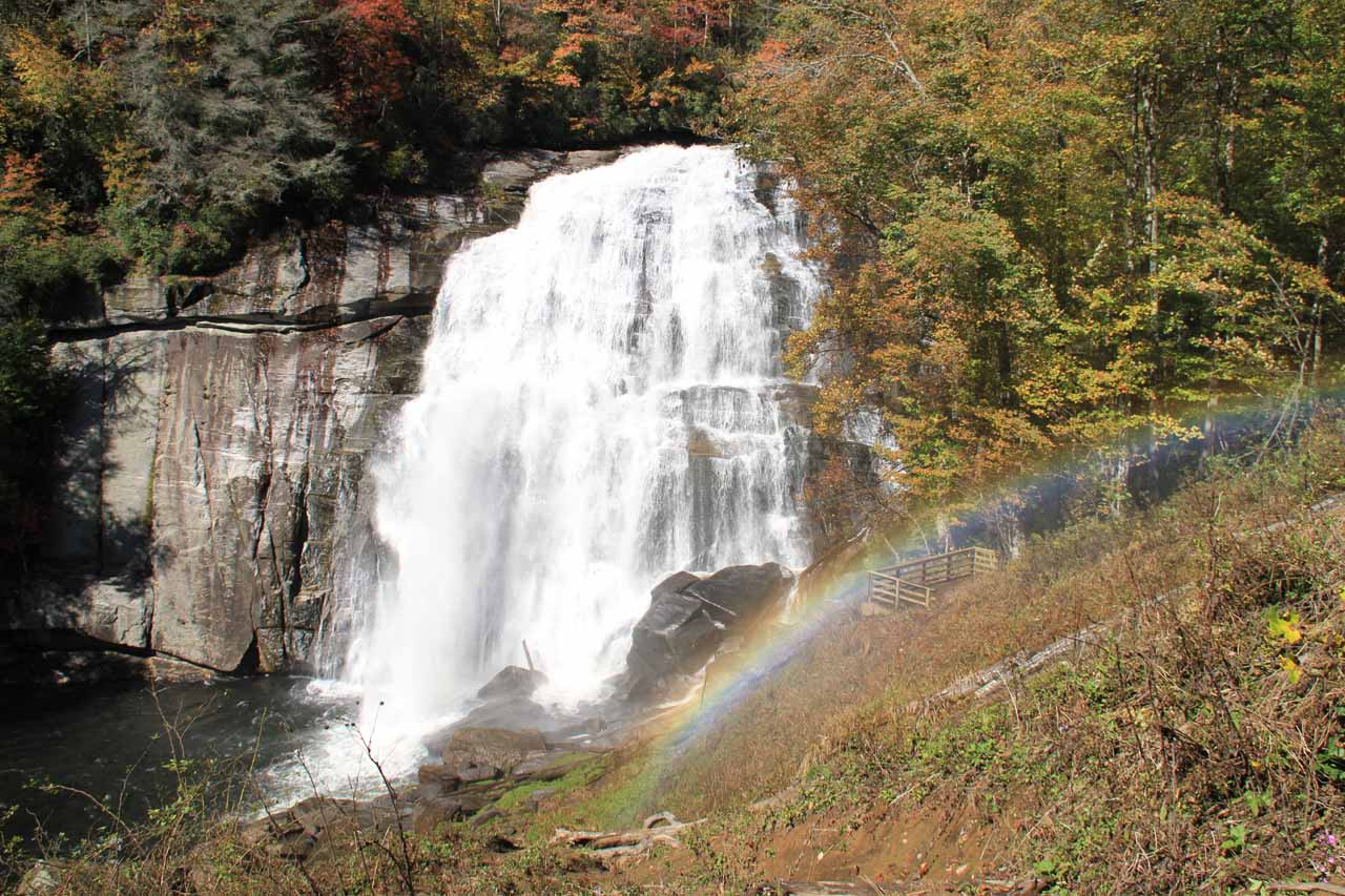 Rainbow Falls and namesake rainbow