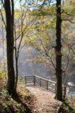 Rainbow_Falls_039_20121016 - Mist assaulting the lower overlook of Rainbow Falls