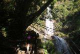 Rainbow_Waterfall_076_10312016 - Mom finally making the final climb approaching the Caihong Waterfall